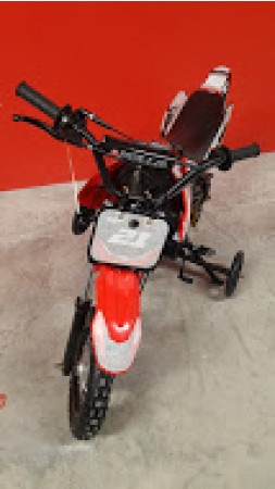 Apollo 70cc Red Dirt Bike Assembled