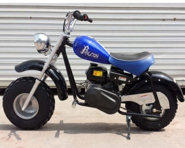 RPS Falcon 196cc Utility Mini Bike Blue