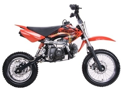 Coolster 125cc MadMax Plus Pit Dirt Bike Red