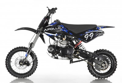 Apollo 125cc DB-99 4 Speed Manual Pit Dirt Bike