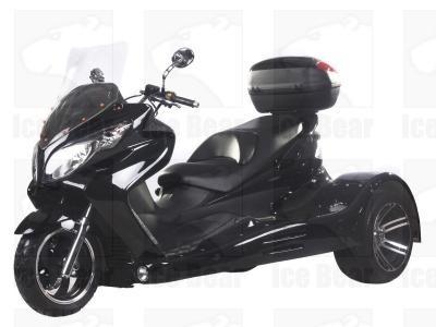 IceBear Trike 150cc Zodiac Trike 3 Wheeler Black