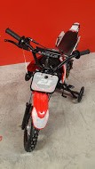 Apollo 70cc Red Dirt Bike Assembled