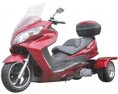 Icebear 150cc Cyclone Trike Metallic Burgundy