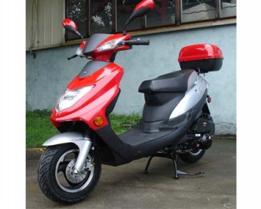 Roketa 150cc 123 Scooter Red