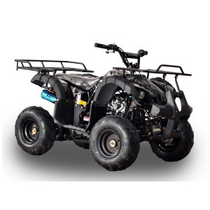 RPS 125cc Raider 8 Kids ATV Spider Black