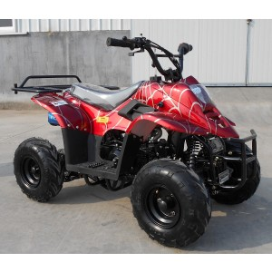 RPS 110cc Raider 6 Kids ATV Spider Burgundy