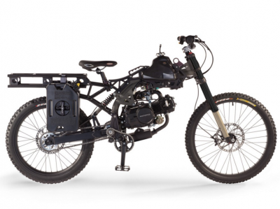 Motoped Survival - Motorized 49cc Mountain Bike