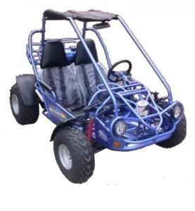 TrailMaster 150cc XRS GTS GoKart Blue