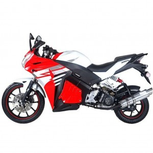 Tao Tao 50cc Racer Scooter side red
