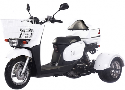 Icebear 50cc Mini Cruzzer Trike White