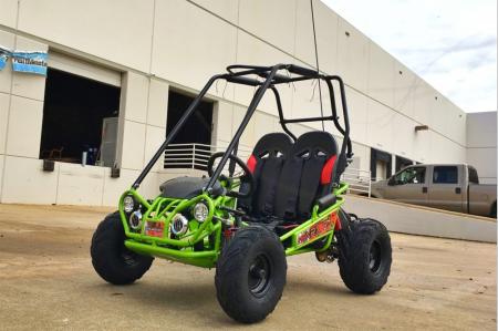 Trail Master 163cc Kids XRX-R+ Go Kart -green