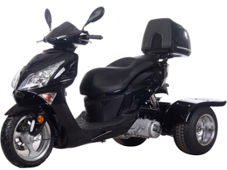 Icebear 150cc Hawk Trike Metallic Black