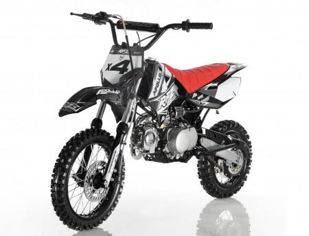 Apollo X4 110cc Pit Bike Black