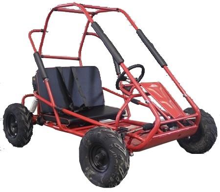 TrailMaster 200cc XRS Mid GoKart Red