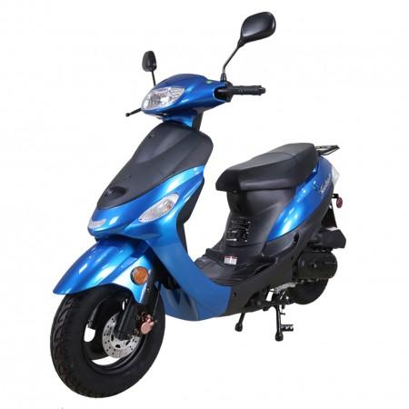 TaoTao 50cc Euro Gas Scooter Moped Blue