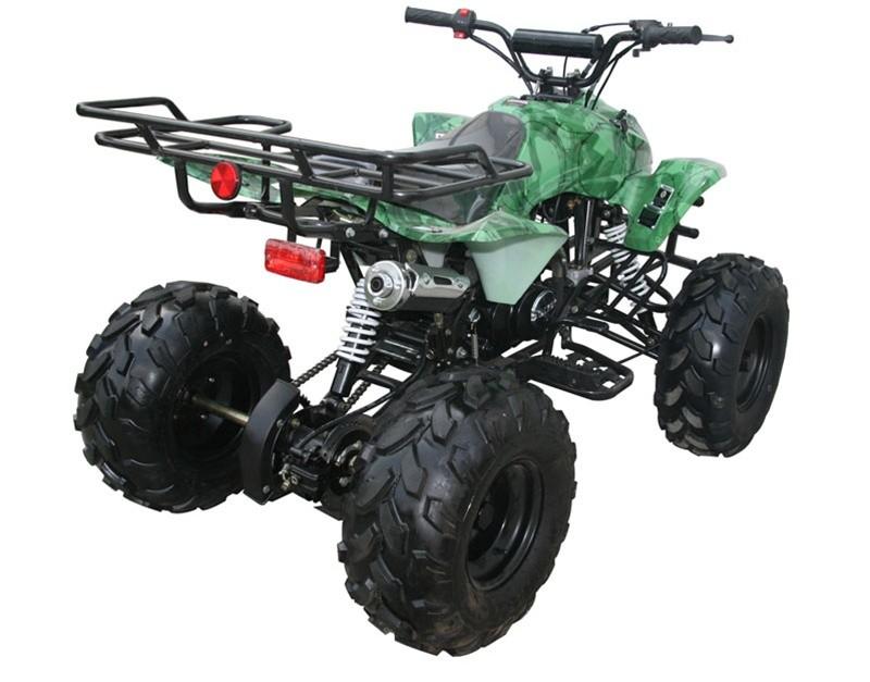 Green Camo Atv: Coolster Hunter 9 Midsize Atv 125cc Atv