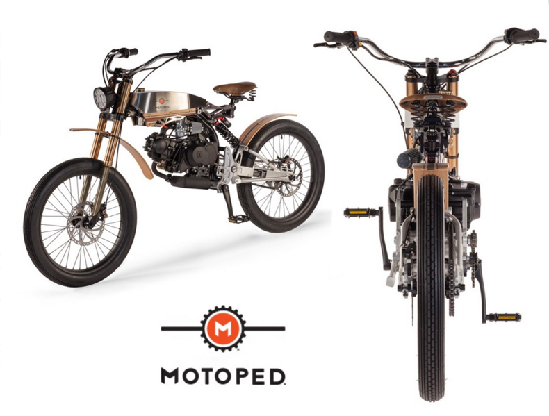 Motoped Cruzer Motorized 49cc Moped Bike