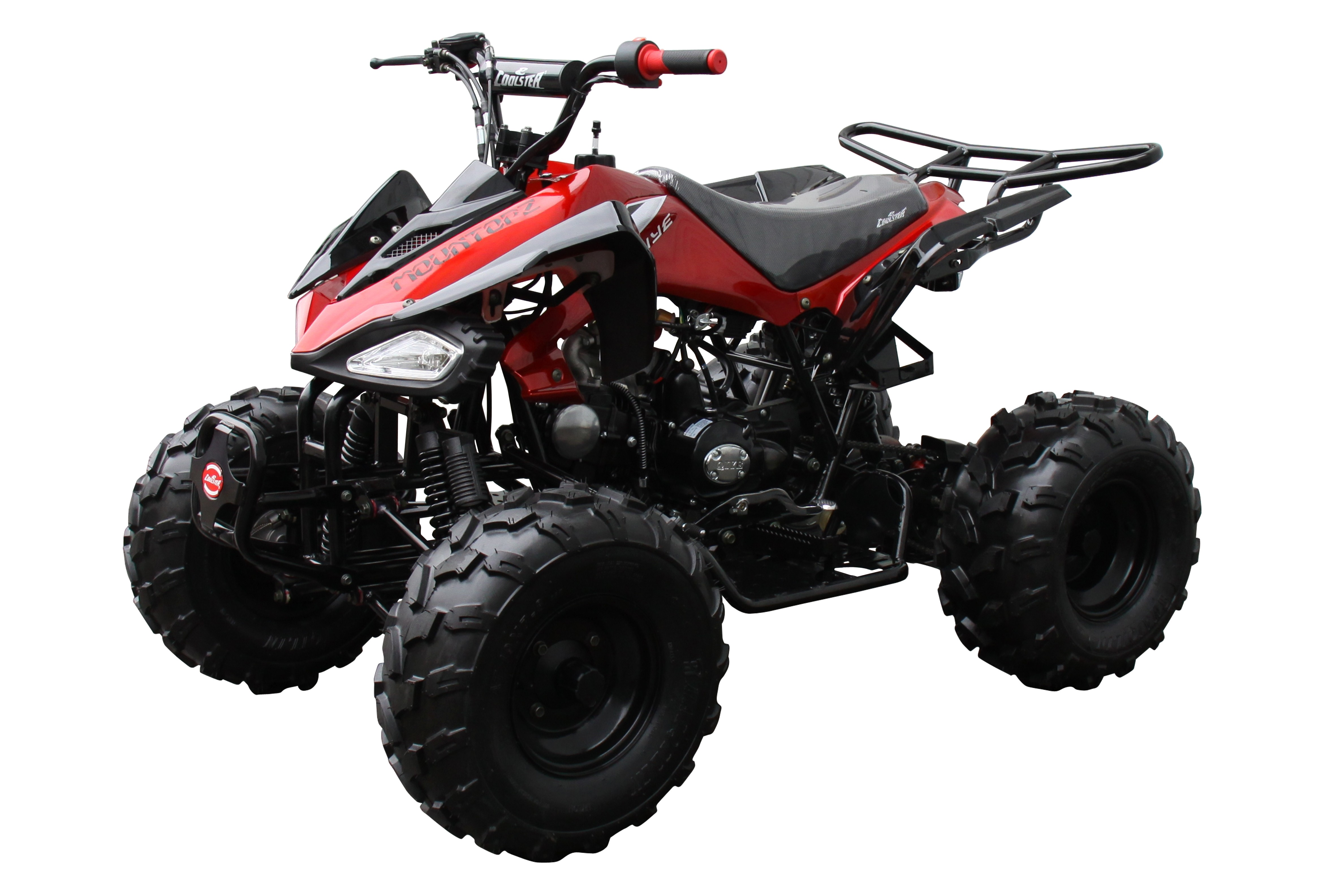 Coolster 125cc RacerPro Automatic ATV Red ...