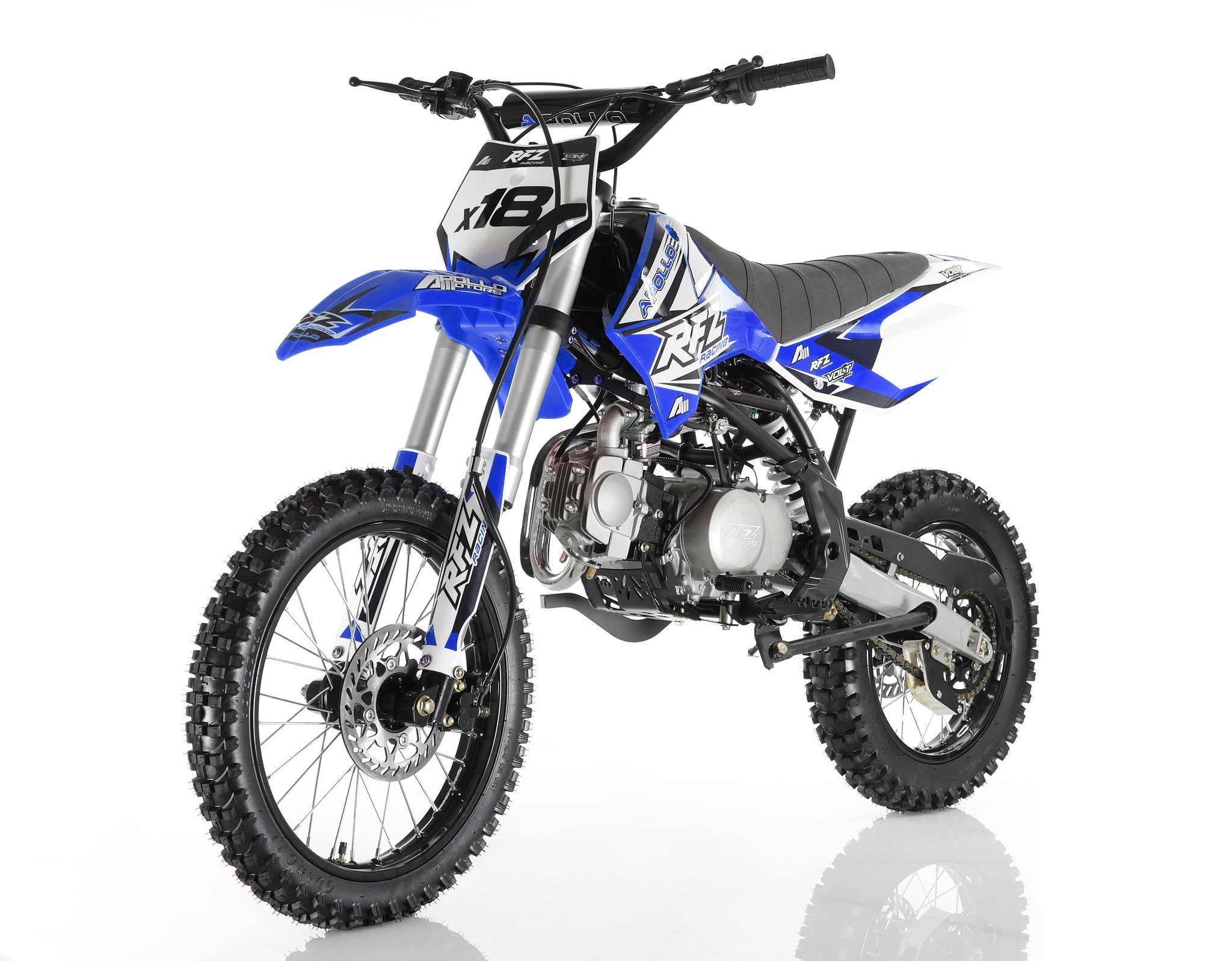 apollo db x18 125cc dirt bike for sale. Black Bedroom Furniture Sets. Home Design Ideas