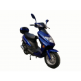 Vitacci Runner49cc Scooter, 4 Stroke, Air-Forced Cool, Single Cylinder - Blue