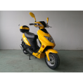 Vitacci Runner49cc Scooter, 4 Stroke, Air-Forced Cool, Single Cylinder - Yellow