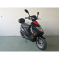 Vitacci Runner49cc Scooter, 4 Stroke, Air-Forced Cool, Single Cylinder - Black