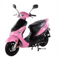 TaoTao 50cc ATM 50A1 Gas Scooter Moped Pink