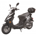 Vitacci SOLANA 49cc QT-5 Scooter, 4 Stroke, Air-Forced Cool, Single Cylinder - Black