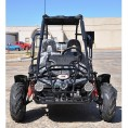 Trailmaster 200cc XRX Mid Go Kart CA Carb Approved Black