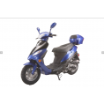 Vitacci SOLANA 49cc QT-5 Scooter, 4 Stroke, Air-Forced Cool, Single Cylinder -Blue