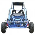 Trailmaster 200cc XRX Mid Go Kart CA Carb Approved Blue