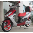Icebear 150cc 3C Automatic Scooter Burgundy-Silver