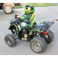 Coolster 125cc Utility-Max Kids ATV Camo Green