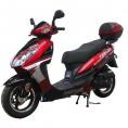 Tao Tao 50cc Evo Gas Scooter Moped Burgundy