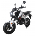 Tao Tao 125cc Hellcat Motorcycle White