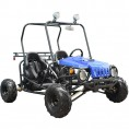 Tao Tao 110cc Jeep Max GoKart Fully-Automatic with Reverse Blue
