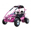 Trailmaster 200cc XRX Mid Go Kart CA Carb Approved Pink