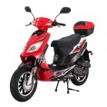 Tao Tao 50cc Thunder Gas Scooter Moped Red