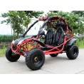 RPS 200 169cc Falcon Go Kart Red