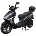 Tao Tao 50cc Evo Gas Scooter Moped Black/Grey