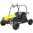 Tao Tao Jeep Max GoKart Semi-Automatic with Reverse Yellow