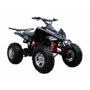 Coolster 150cc CXC Sport ATV Black Front Right 45°
