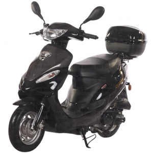 Icebear 50cc 4J Automatic Scooter Black