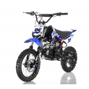 Apollo 125cc DB-35 Dirt Bike Blue