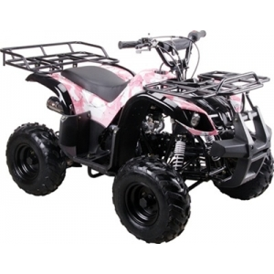 Coolster 125cc Utility-Max Kids ATV Camo Pink