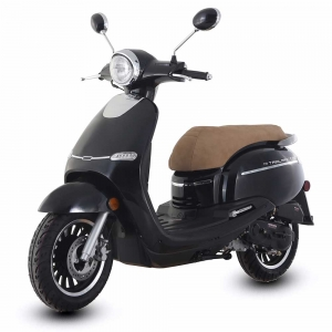 TrailMaster Turino 50A 50cc Moped Scooter 2018 New Arrival Retro Stylish Design