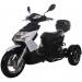 Icebear 50cc Elf Trike Black White