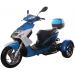 Icebear 50cc Elf Trike Blue White