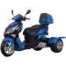 Icebear 150cc Hawk Trike Blue Black