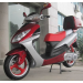 Icebear 150cc 3C Automatic Scooter Burgundy Silver